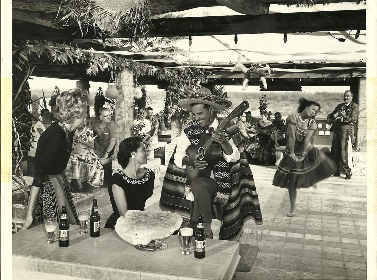 Karichimaka Restaurant in the 1960s